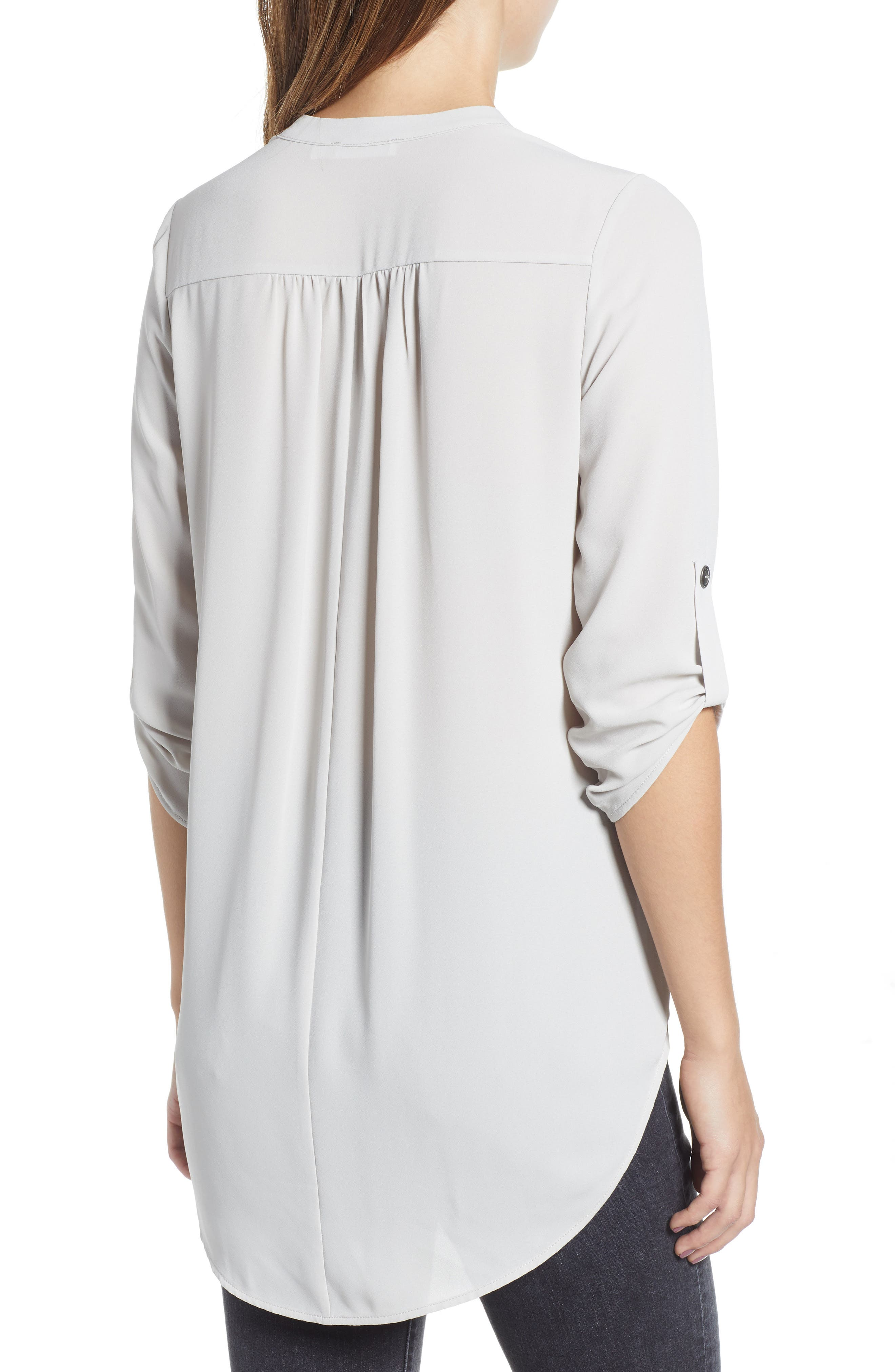 ,                             Perfect Roll Tab Sleeve Tunic,                             Alternate thumbnail 30, color,                             032