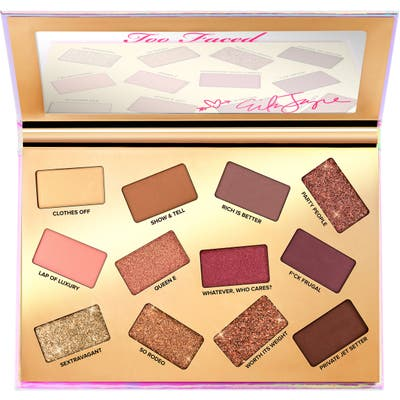 Too Faced X Erika Jayne Pretty Mess Eyeshadow Palette - No Color