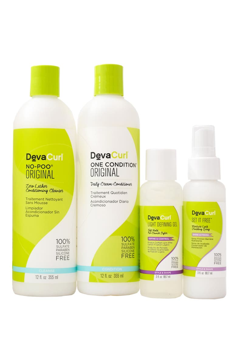 DEVACURL Share the Curly Love Set, Main, color, NO COLOR