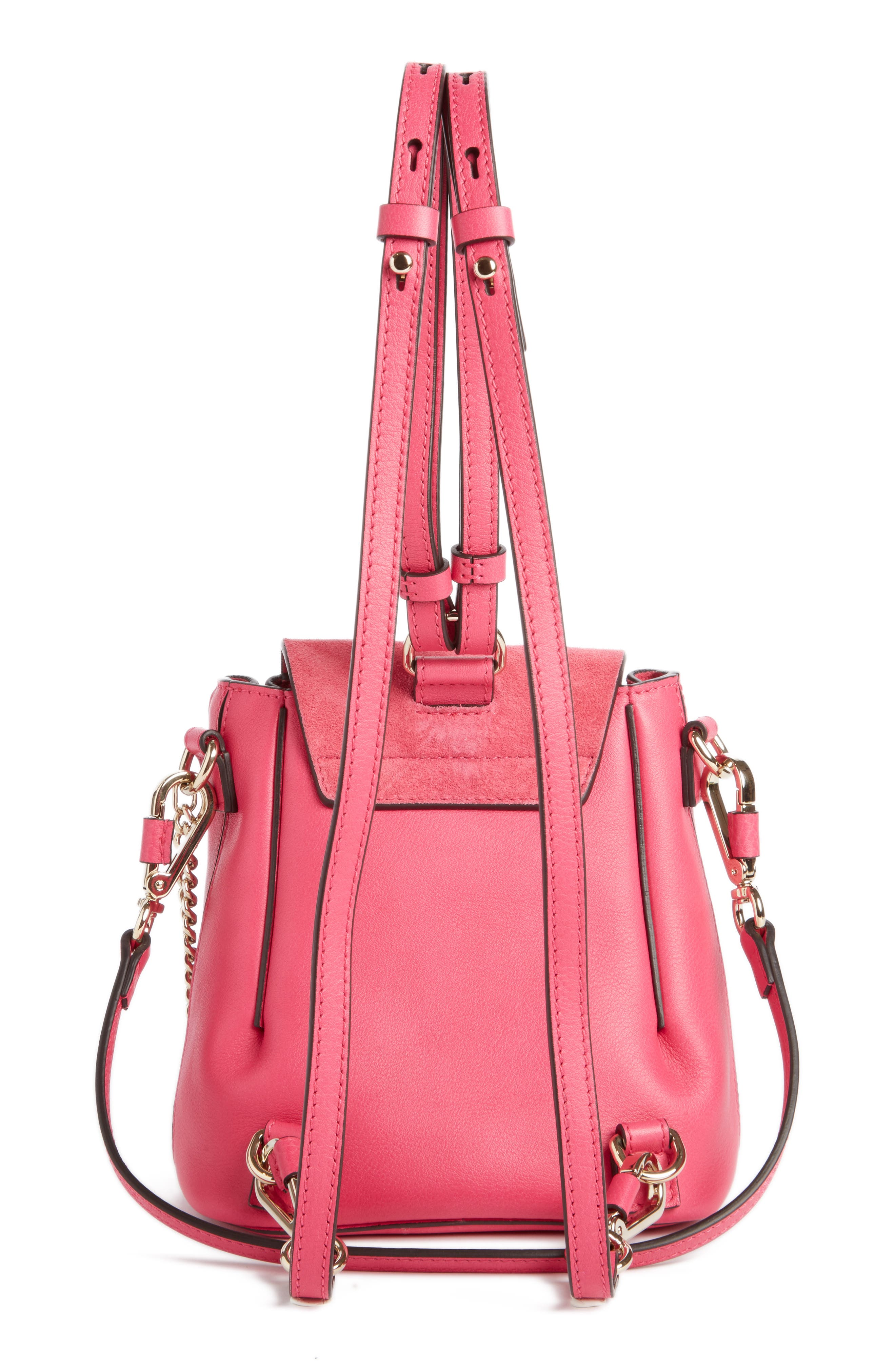 ,                             Mini Faye Leather & Suede Backpack,                             Alternate thumbnail 31, color,                             651