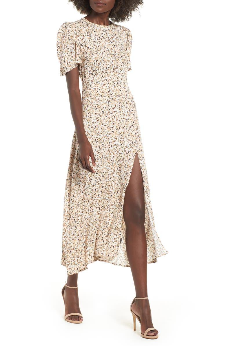 AFRM Lala Midi Dress, Main, color, 250