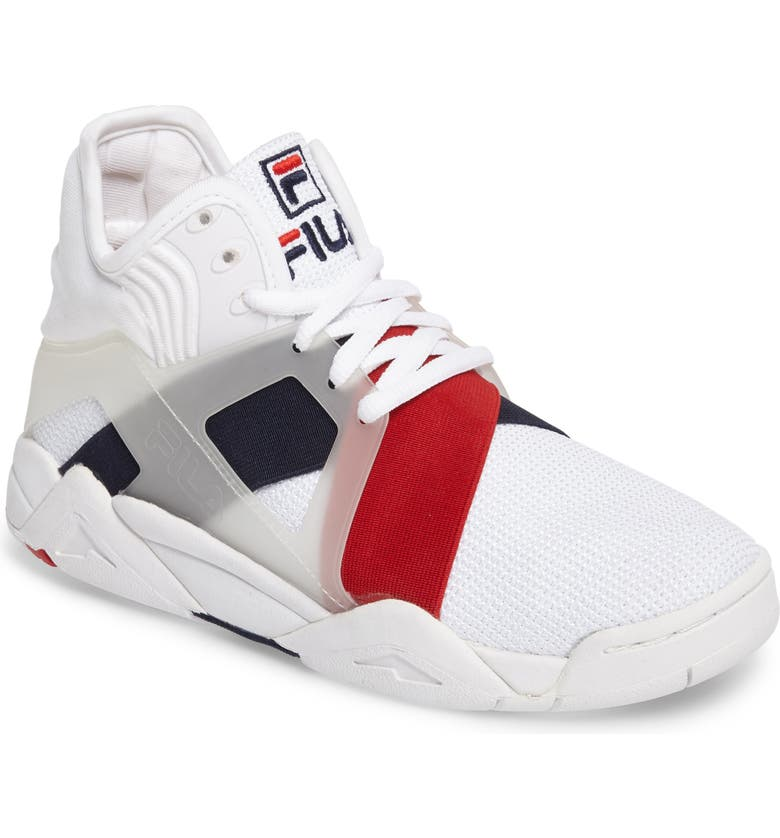 Cage 17 Logo High Top Sneaker