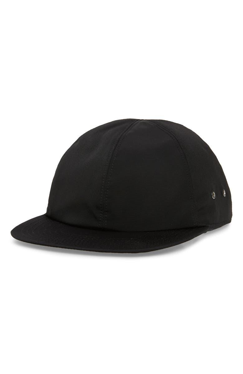 1017 ALYX 9SM Baseball Cap, Main, color, BLACK/ SILVER