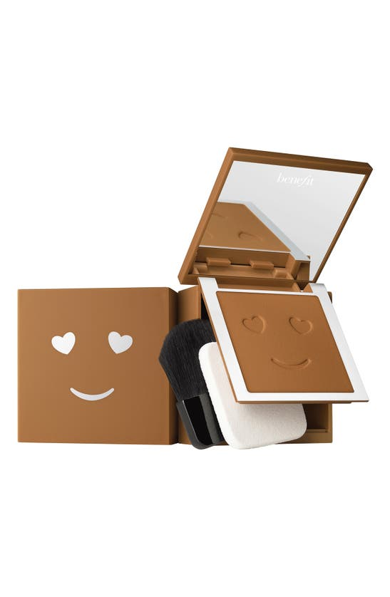 Benefit Cosmetics Benefit Hello Happy Velvet Powder Foundation In Shade 12- Dark Warm