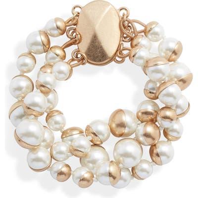 Bracha Coco Simulated Pearl Bracelet