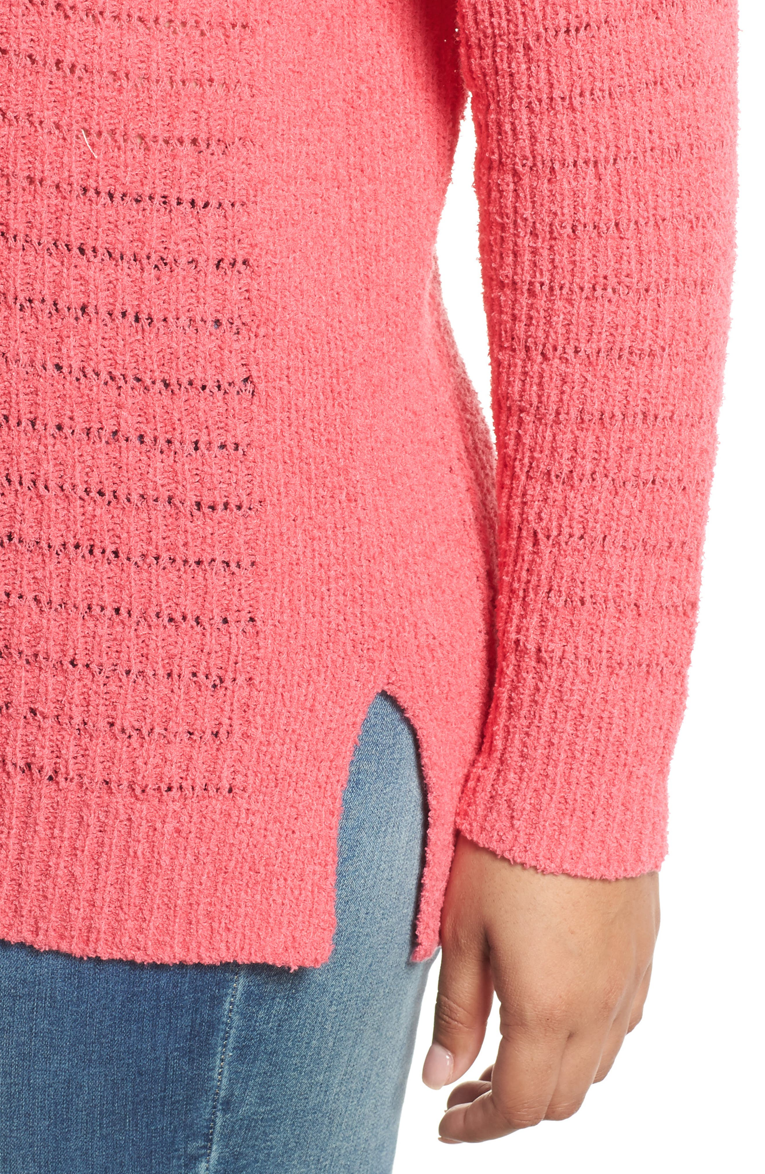 ,                             Tuck Stitch Sweater,                             Alternate thumbnail 16, color,                             651