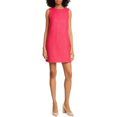 Alice + Olivia Clyde Sleeveless A-Line Shift Dress, Pink