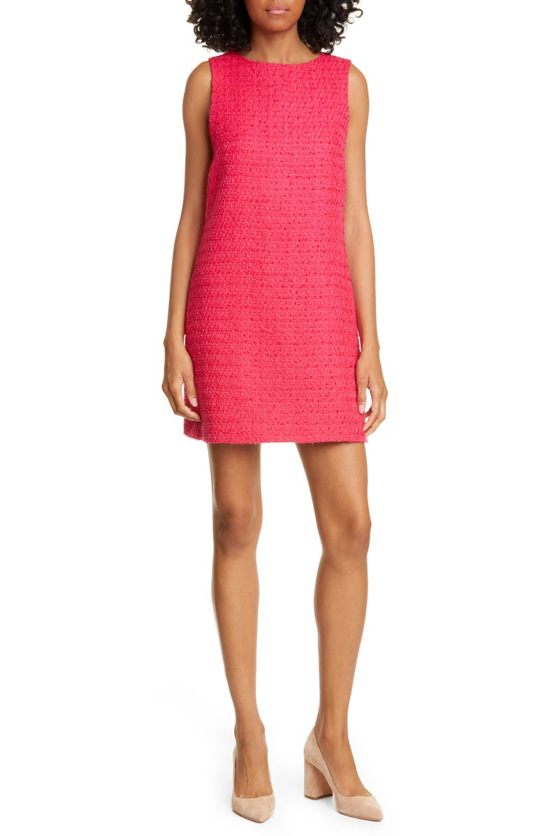 ALICE + OLIVIA Clyde Sleeveless A-Line Shift Dress, Main, color, 671