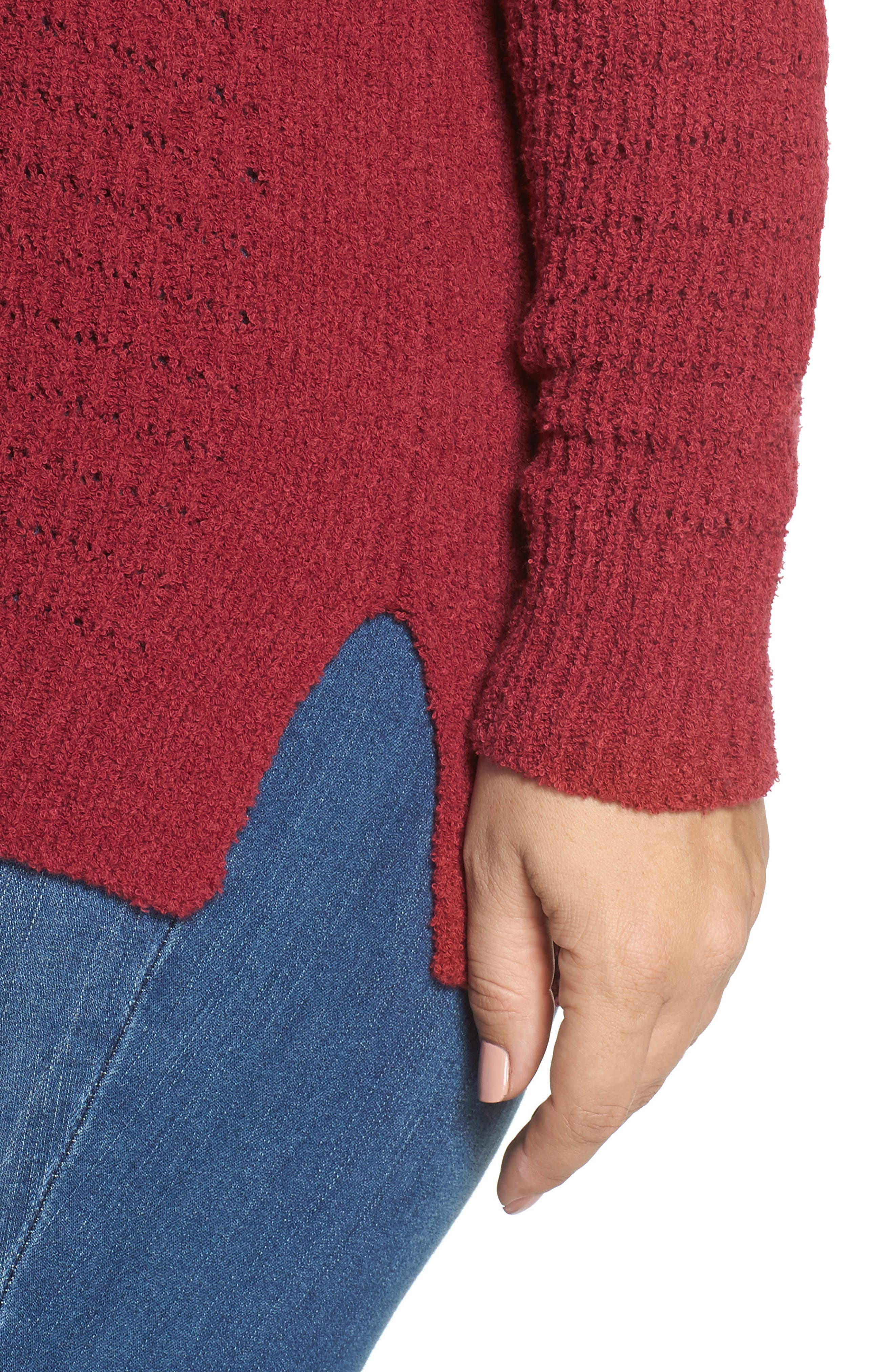 ,                             Tuck Stitch Sweater,                             Alternate thumbnail 10, color,                             601