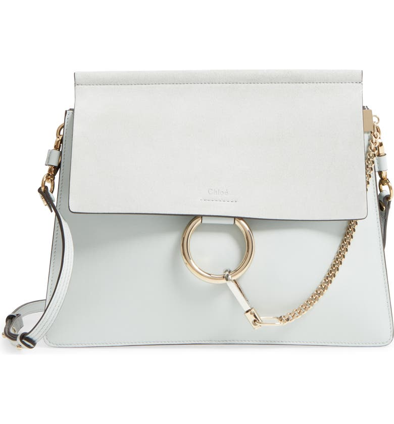 c1e264fc Faye Suede & Leather Shoulder Bag