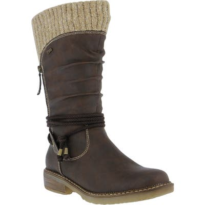 Spring Step Acaphine Water Resistant Boot - Brown
