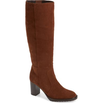 Aquatalia Breanna Weatherproof Knee High Boot, Brown