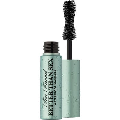 Too Faced Better Than Sex Waterproof Mascara, .17 oz - Black