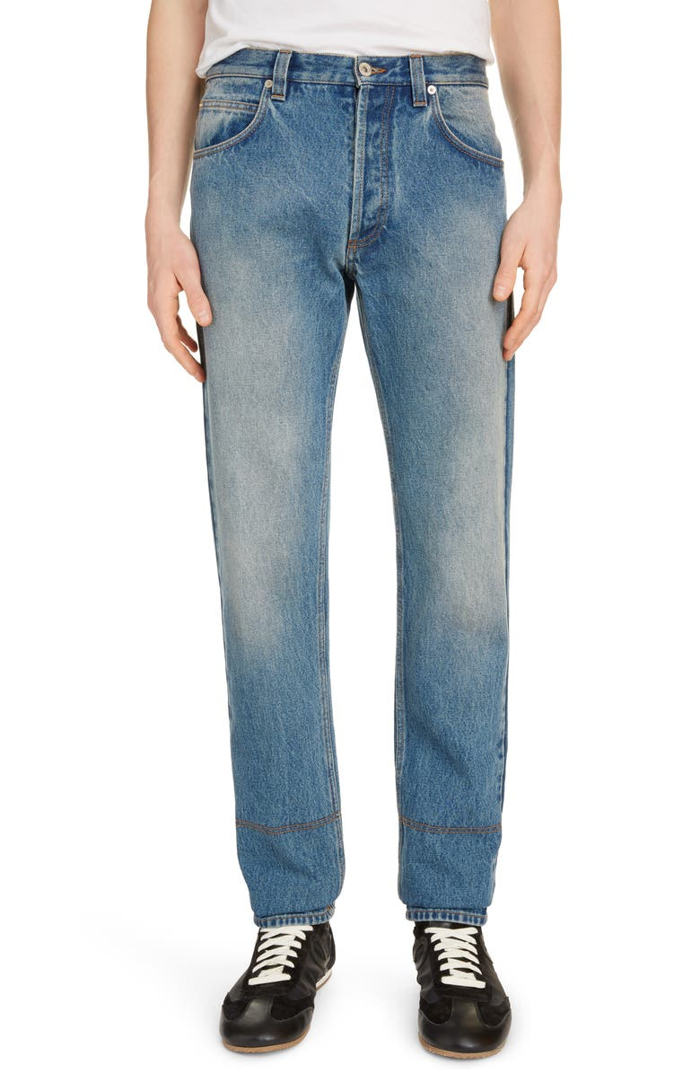 Loewe Five Pocket Jeans Washed Denim
