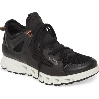 Ecco Omni-Vent Gore-Tex Mesh Sneaker, Black