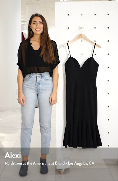 Marilyn Slit Midi Dress, sales video thumbnail