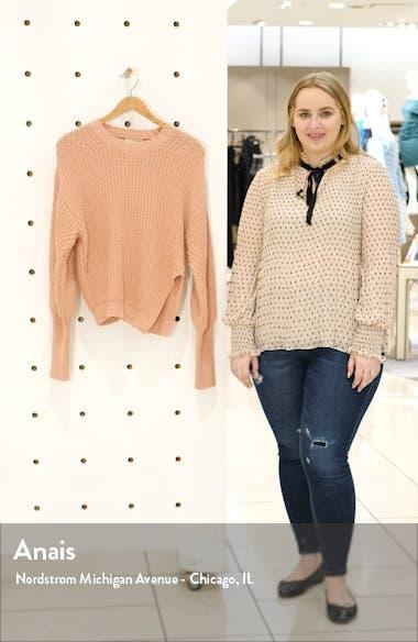 Cosima Split Hem Sweater, sales video thumbnail