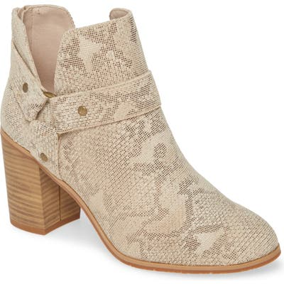 Bc Footwear Miss Independent Vegan Bootie, Beige