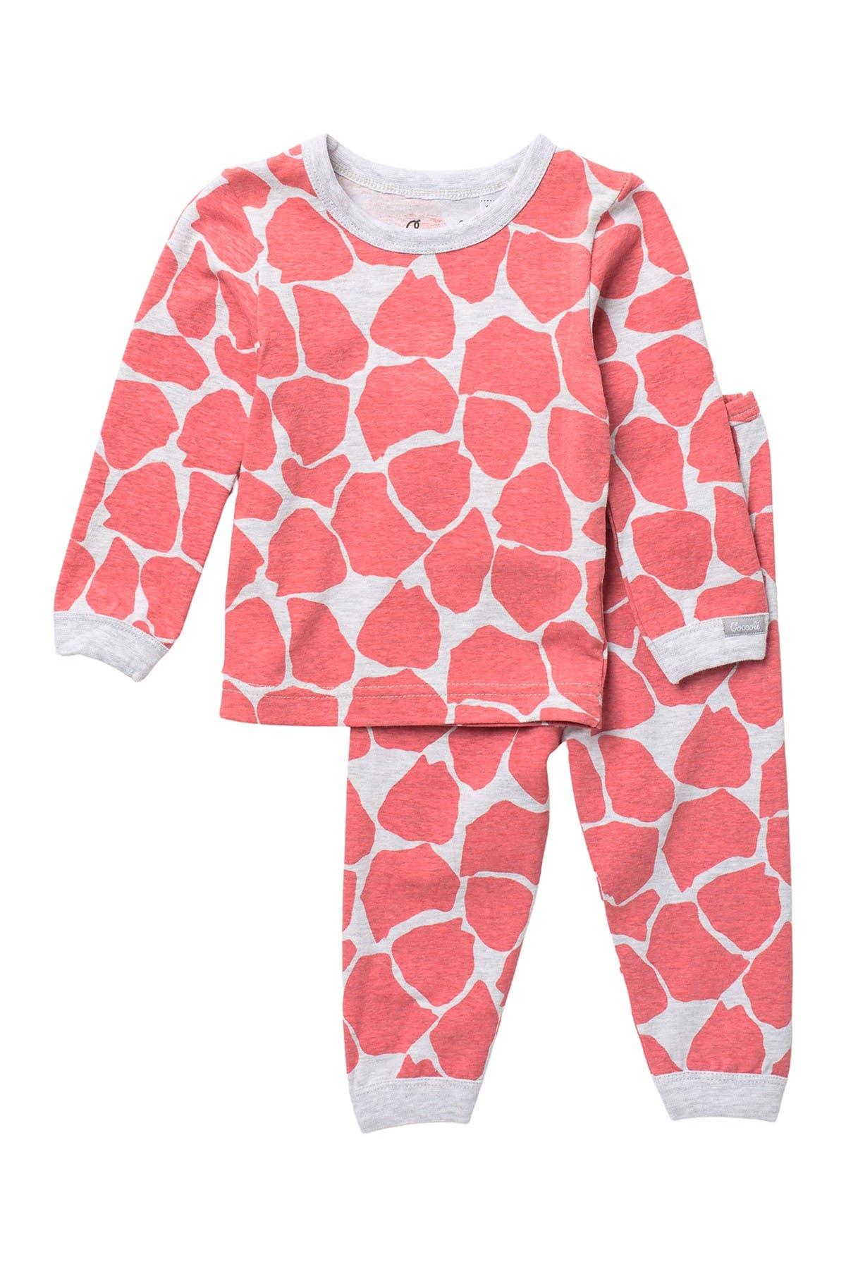 Coccoli Spot Print Top & Pants Pajama Set