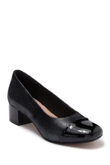 Image of Clarks Chartli Diva Leather Pump