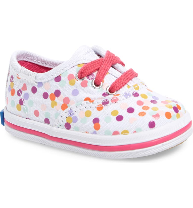 KEDS<SUP>®</SUP> 'Champion' Sneaker, Main, color, CONFETTI PRINT