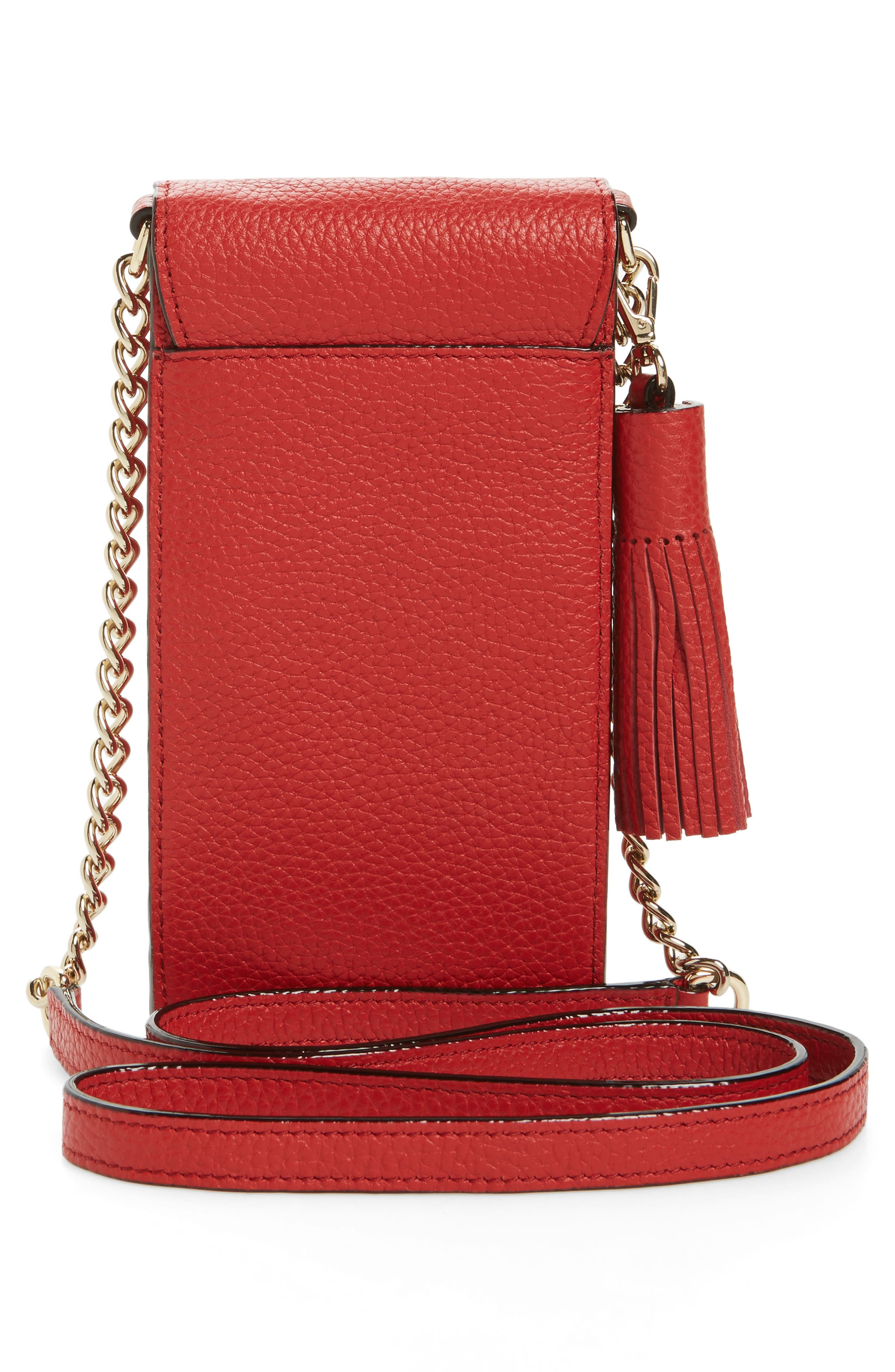 ,                             north/south leather smartphone crossbody bag,                             Alternate thumbnail 28, color,                             631