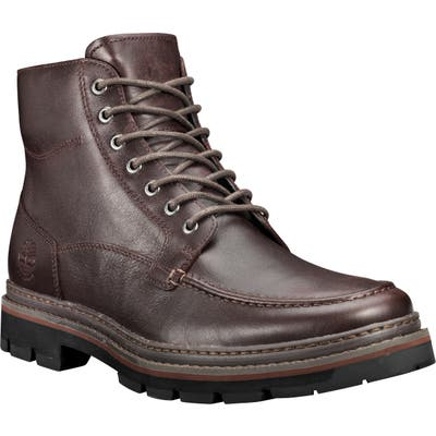 Timberland Port Union Waterproof Moc Toe Boot- Brown