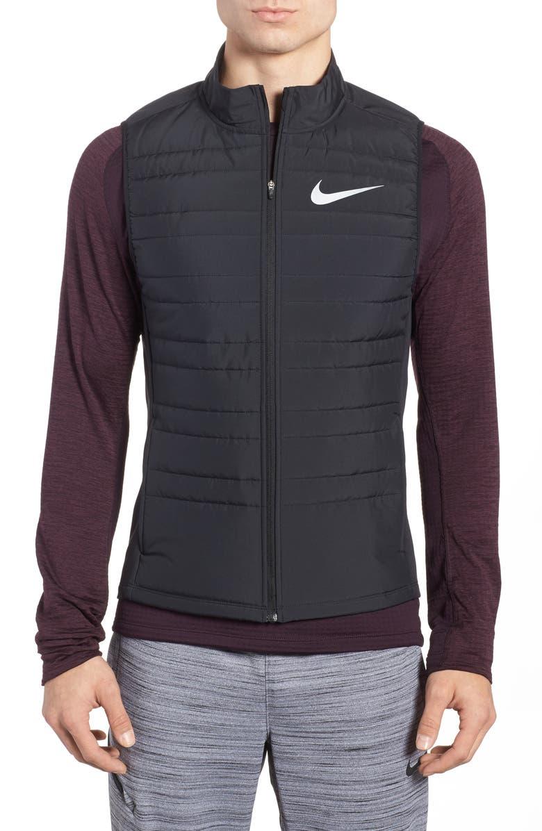 NIKE Essential Running Vest, Main, color, 010