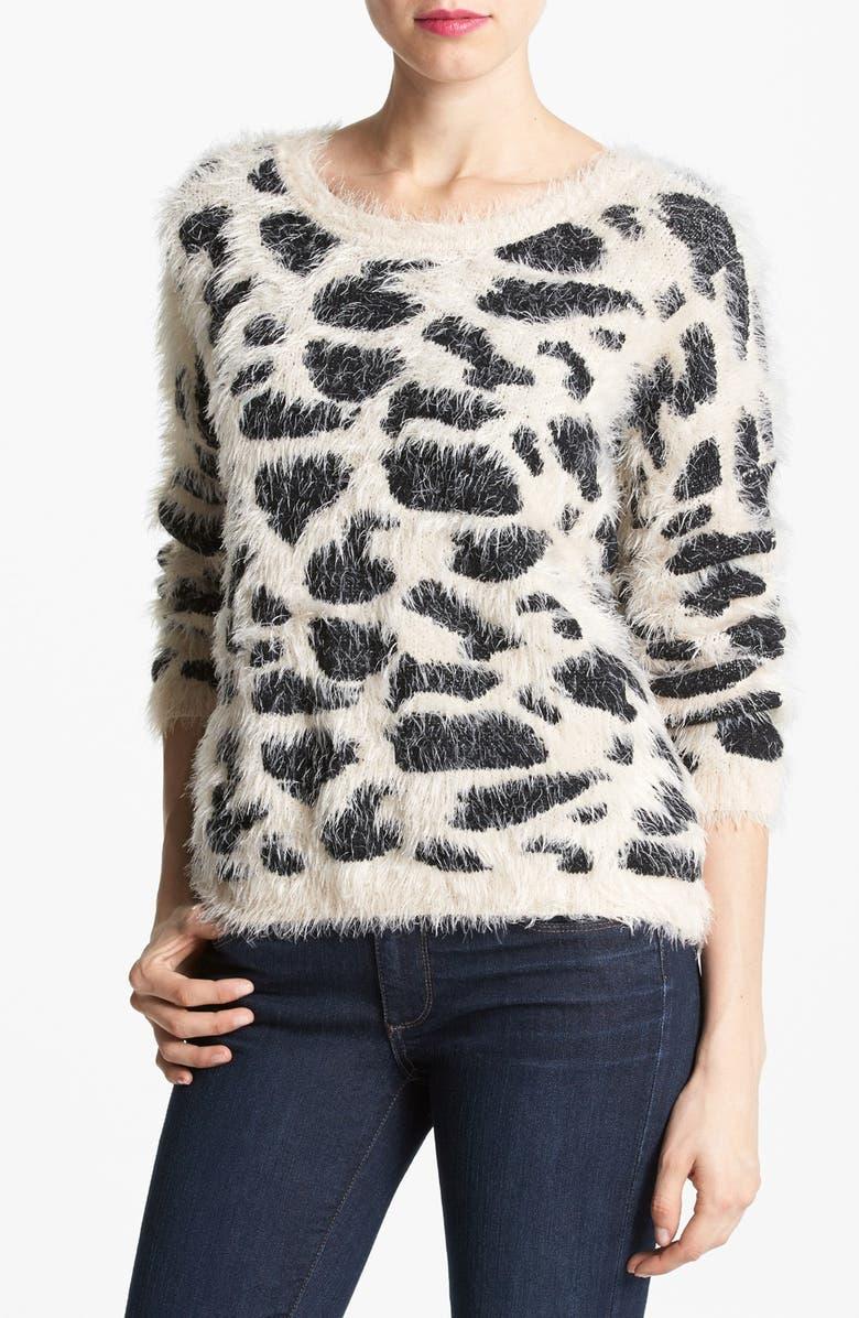 RAGA Animal Pattern Sweater, Main, color, 250