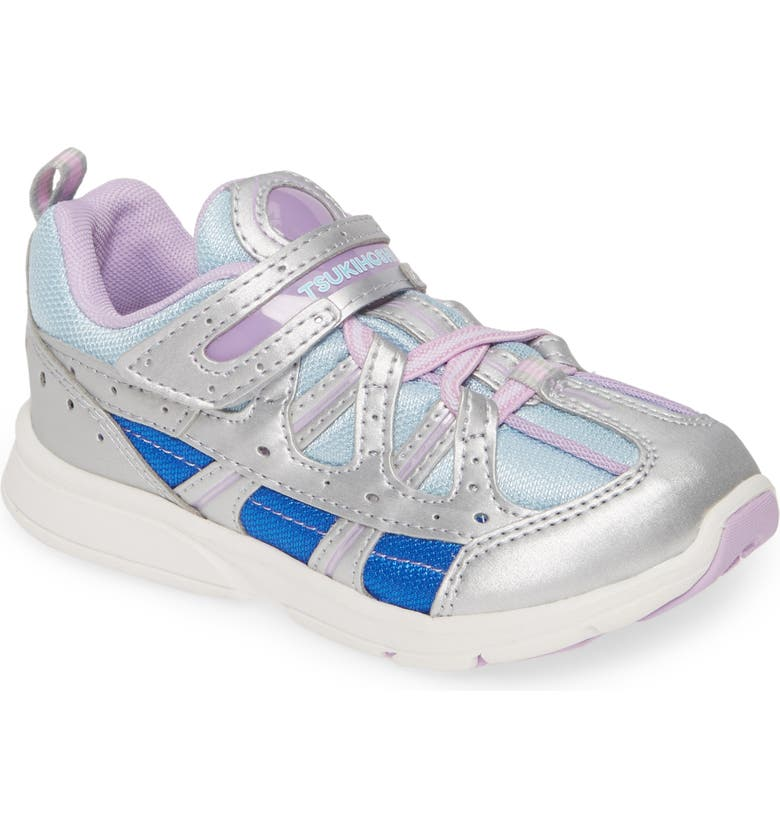 TSUKIHOSHI Speed2 Washable Sneaker, Main, color, SILVER/ SKY