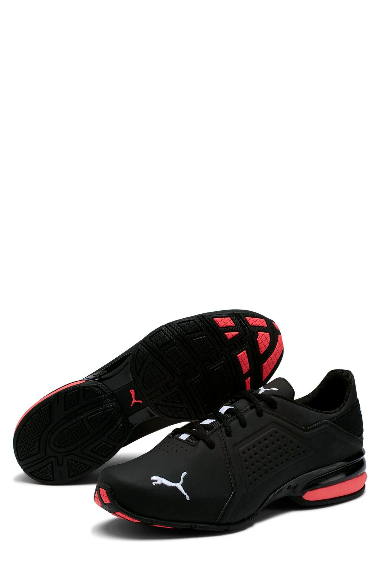 Puma Viz Runner Wide Sneaker In Black- White | ModeSens