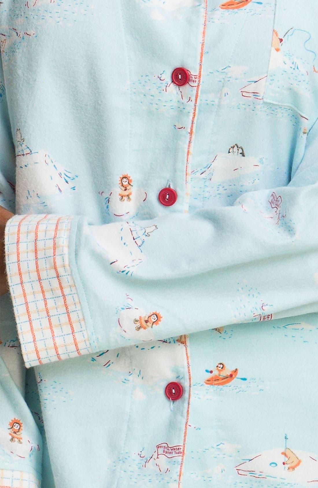 ,                             Flannel Pajamas,                             Alternate thumbnail 46, color,                             451