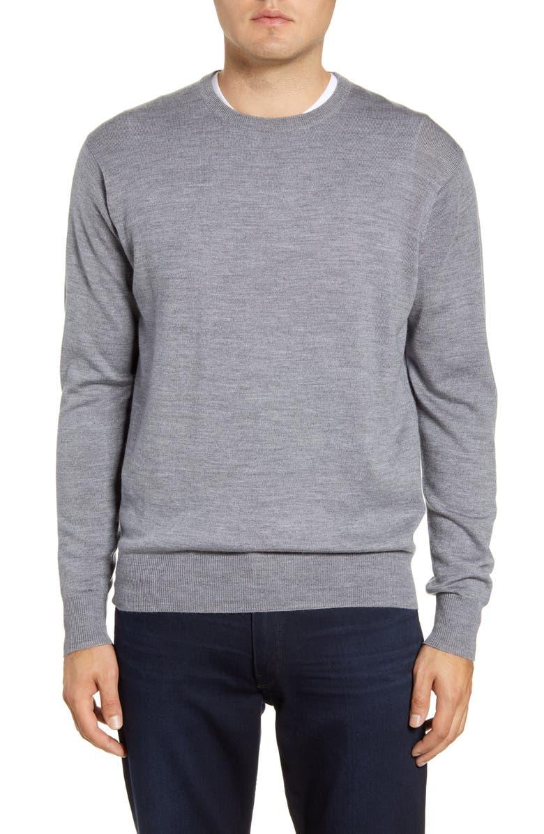 PETER MILLAR Crown Wool & Silk Sweater, Main, color, 024