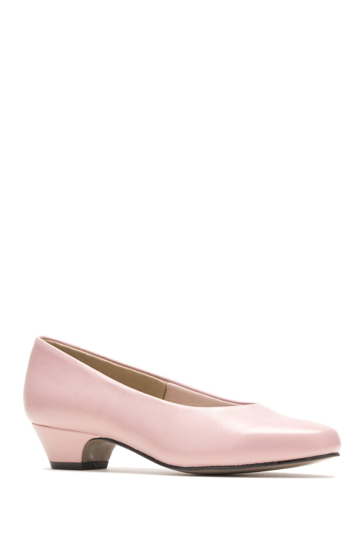 Image of Hush Puppies Angel II Tapered Kitten Heel Pump - Multiple Widths Available