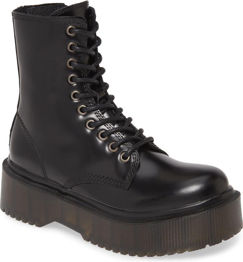 JEFFREY CAMPBELL Sopas Lugged Platform Boot, Main, color, BLACK BOX