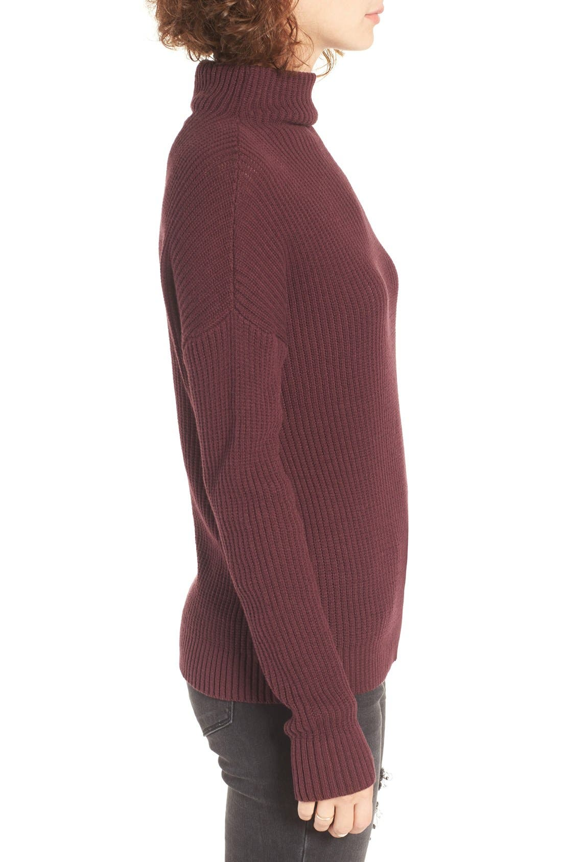 ,                             Mock Neck Sweater,                             Alternate thumbnail 38, color,                             930