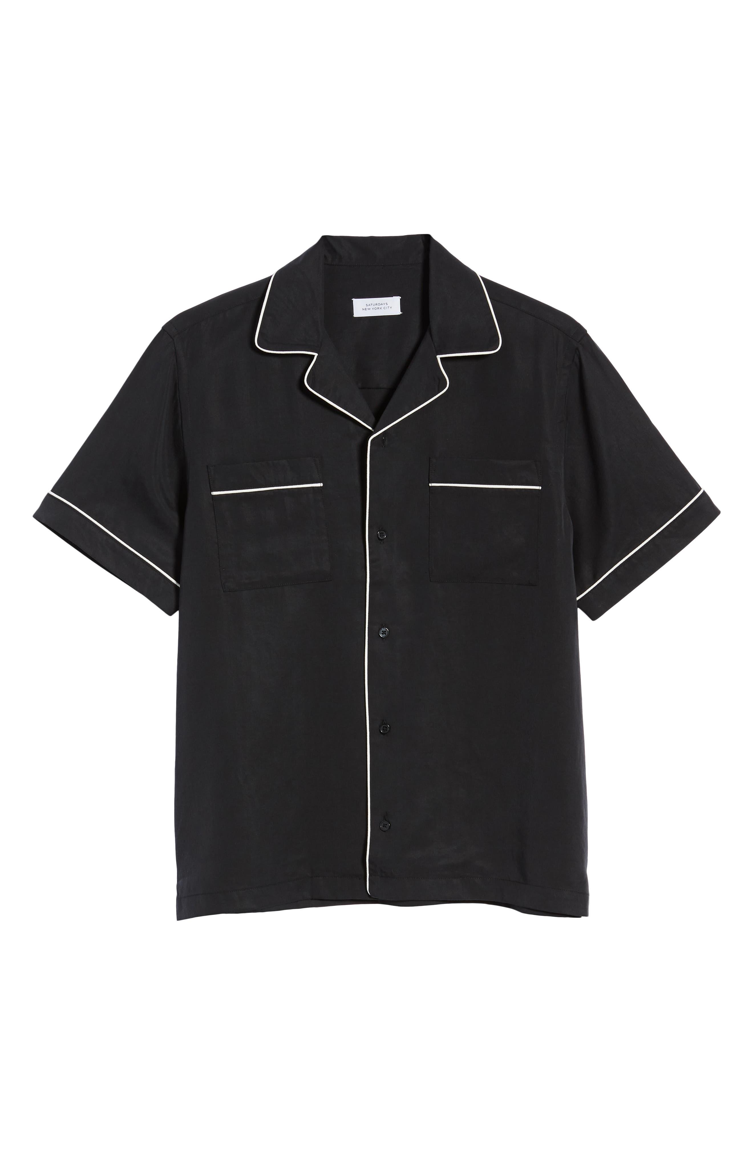 ,                             Cameron Camp Shirt,                             Alternate thumbnail 5, color,                             001