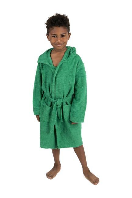 Image of Leveret Green Bathrobe