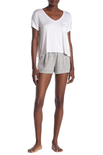 Image of Free Press Cozy Brushed Knit Lounge Shorts