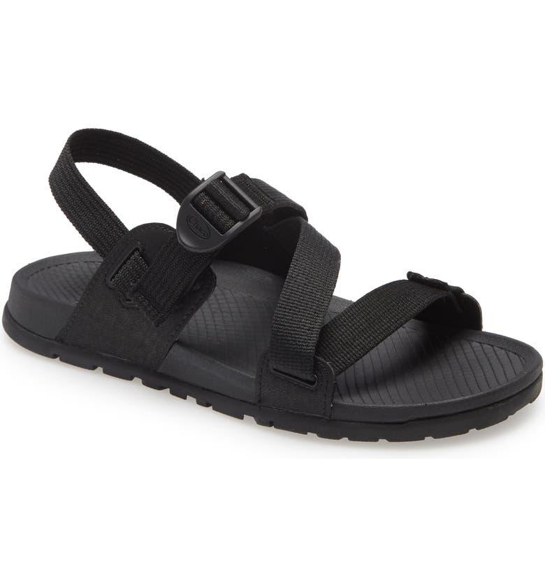 CHACO Lowdown Sport Sandal, Main, color, BLACK FABRIC