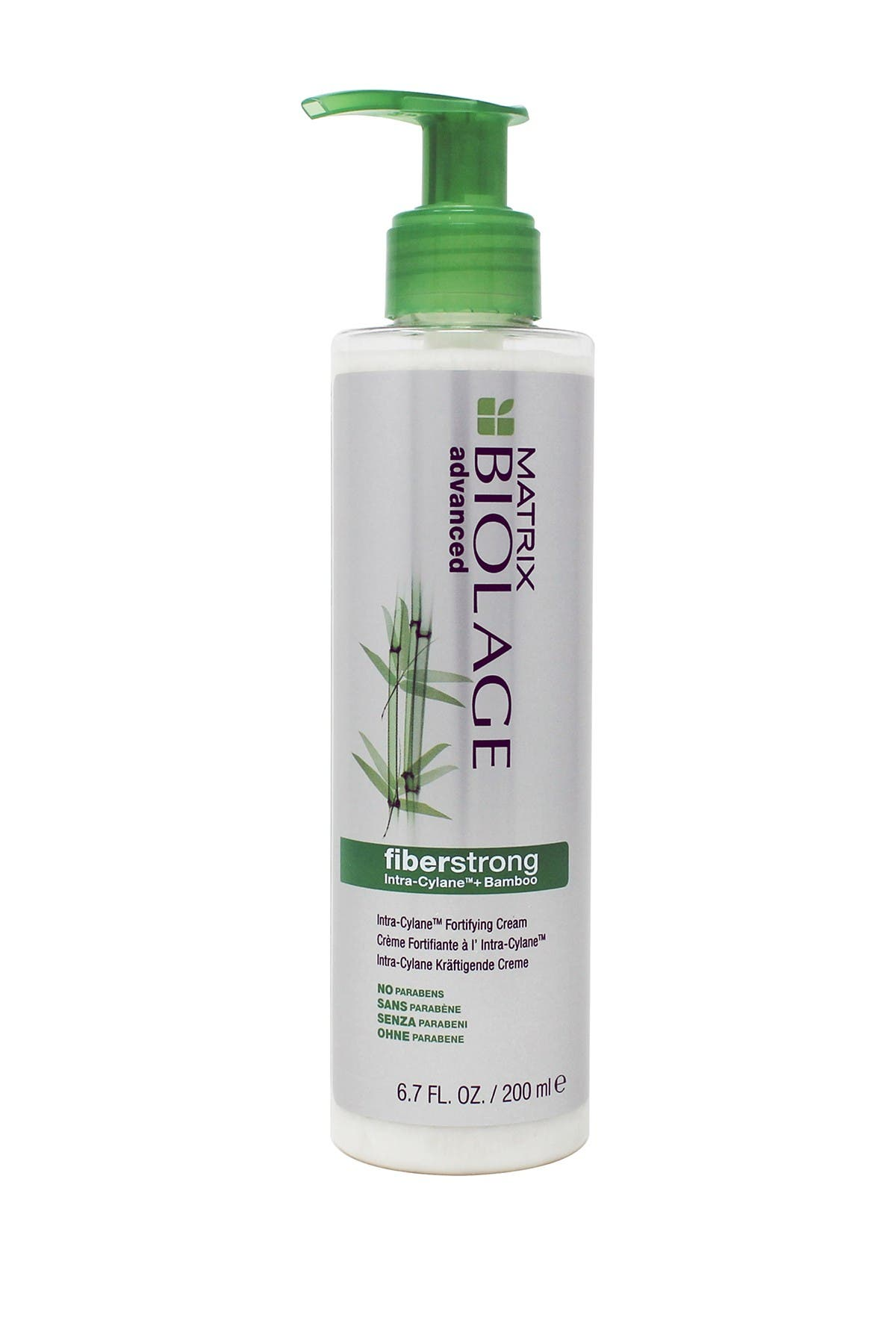 Image of BIOLAGE Advanced Fiberstrong Intra-Cylane + Bamboo Fortifying Cream - 6.7 oz.
