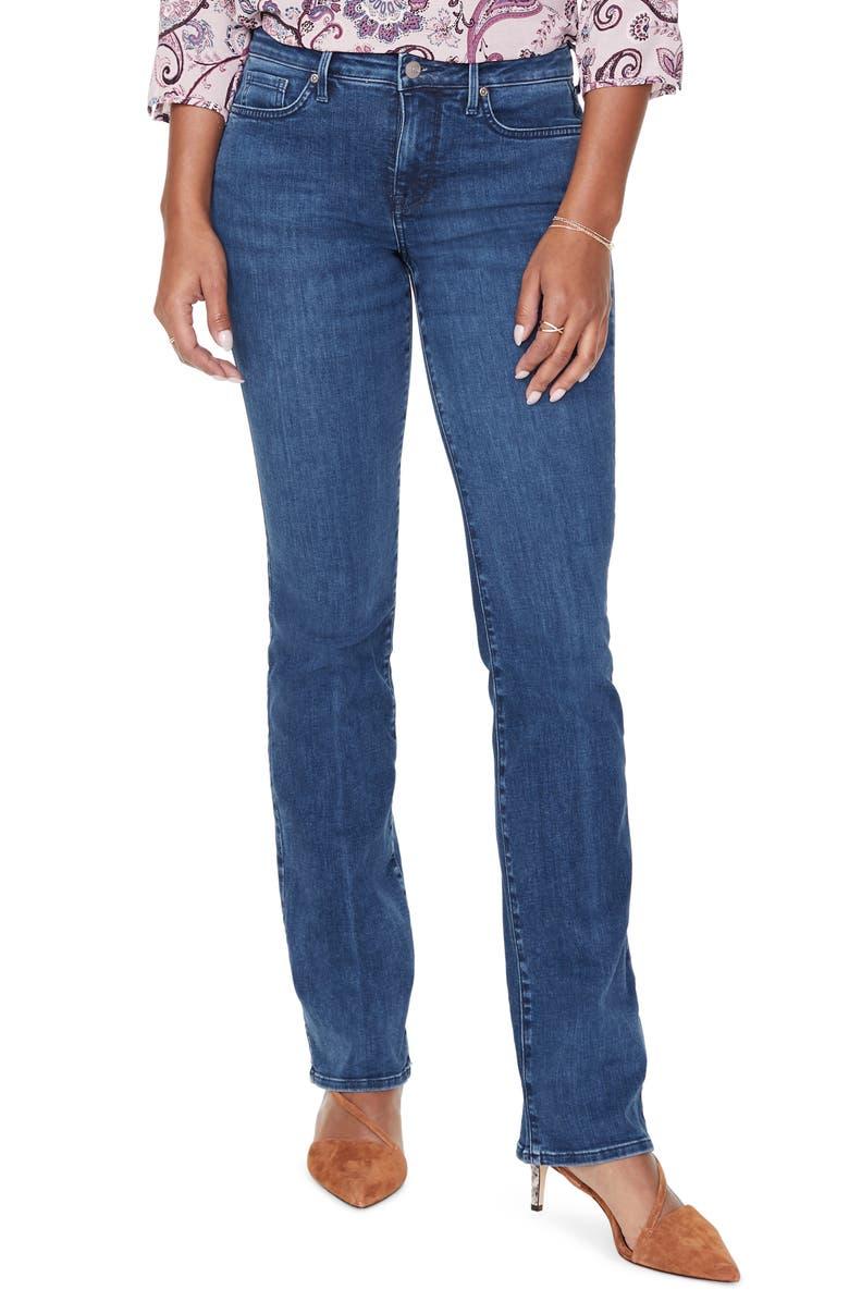NYDJ Barbara Bootcut Jeans, Main, color, HABANA