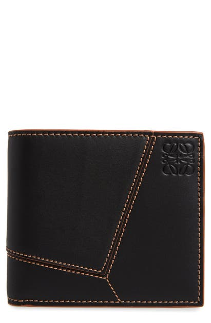 Loewe PUZZLE STITCH LEATHER BIFOLD WALLET