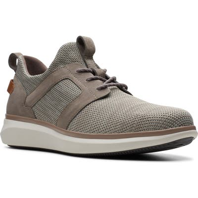 Clarks Un Globe Lace Up Sneaker, Grey