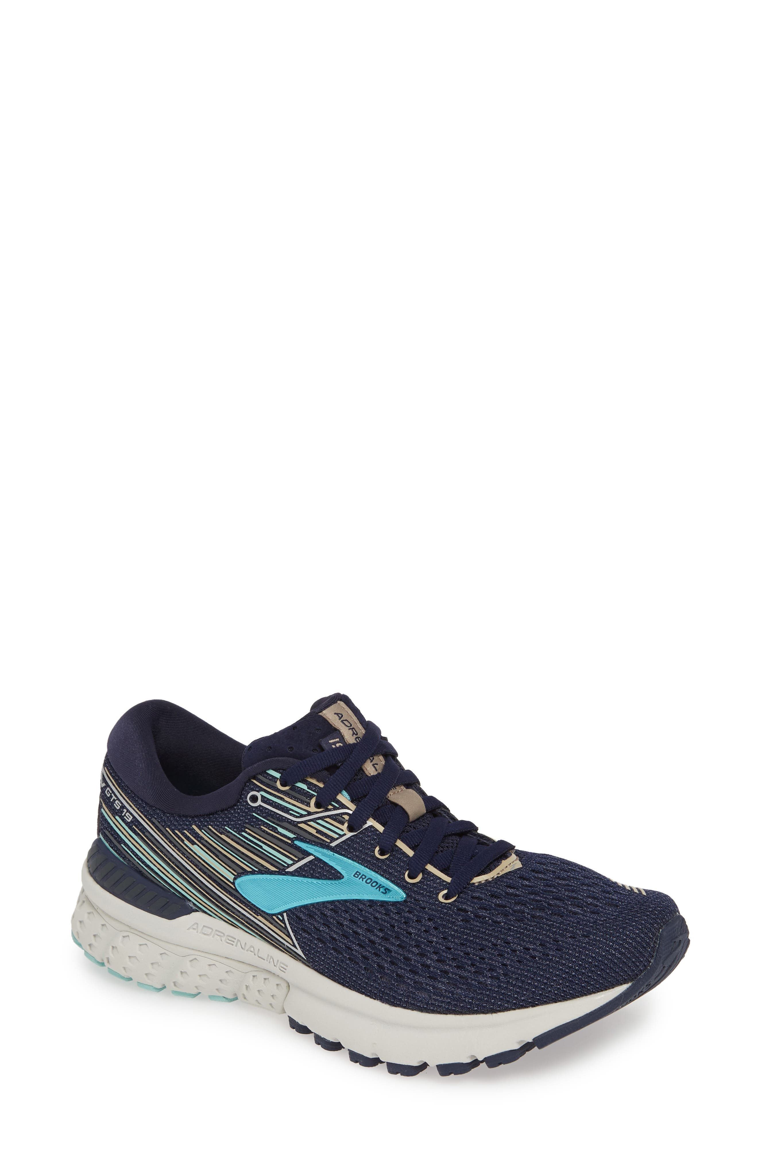 Image of Brooks Adrenaline GTS 19 Running Shoe - Multiple Widths Available