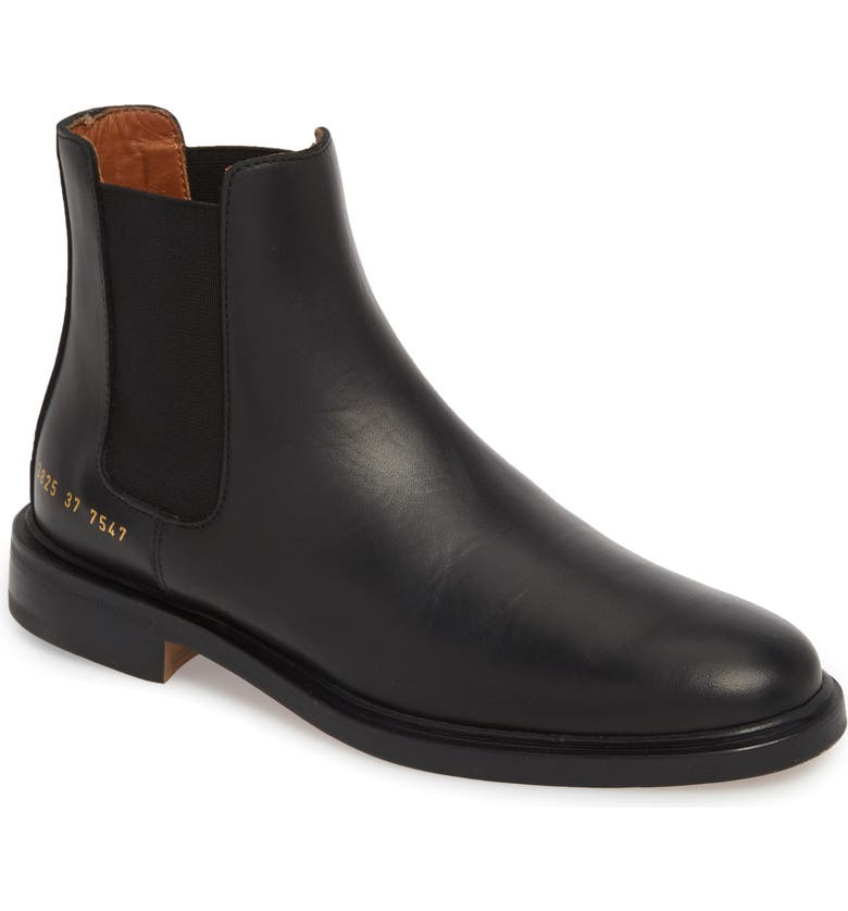 COMMON PROJECTS Chelsea Boot, Main, color, BLACK