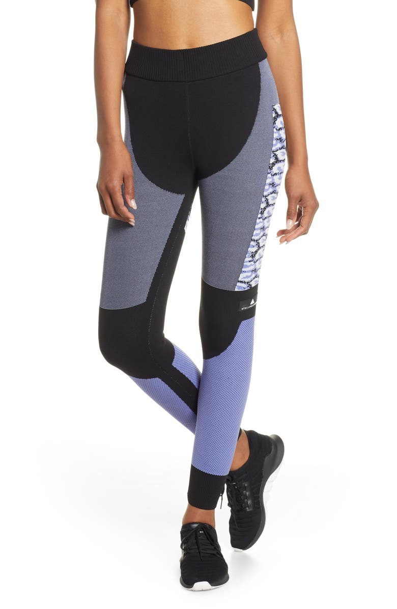 ADIDAS BY STELLA MCCARTNEY Running Tights, Main, color, 001