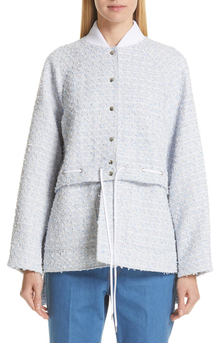 ADEAM Two-Way Bomber Jacket, Main, color, 400