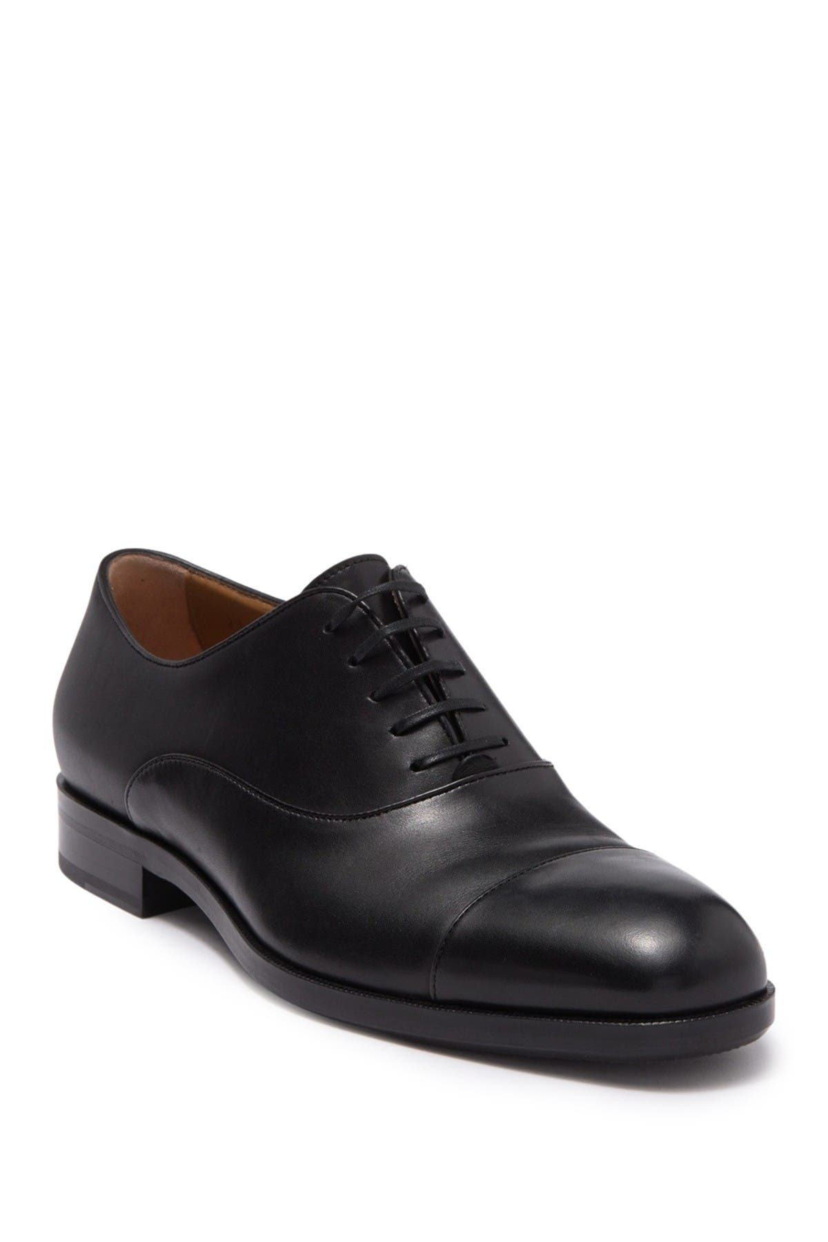 Image of BOSS Stanford Cap Toe Leather Oxford
