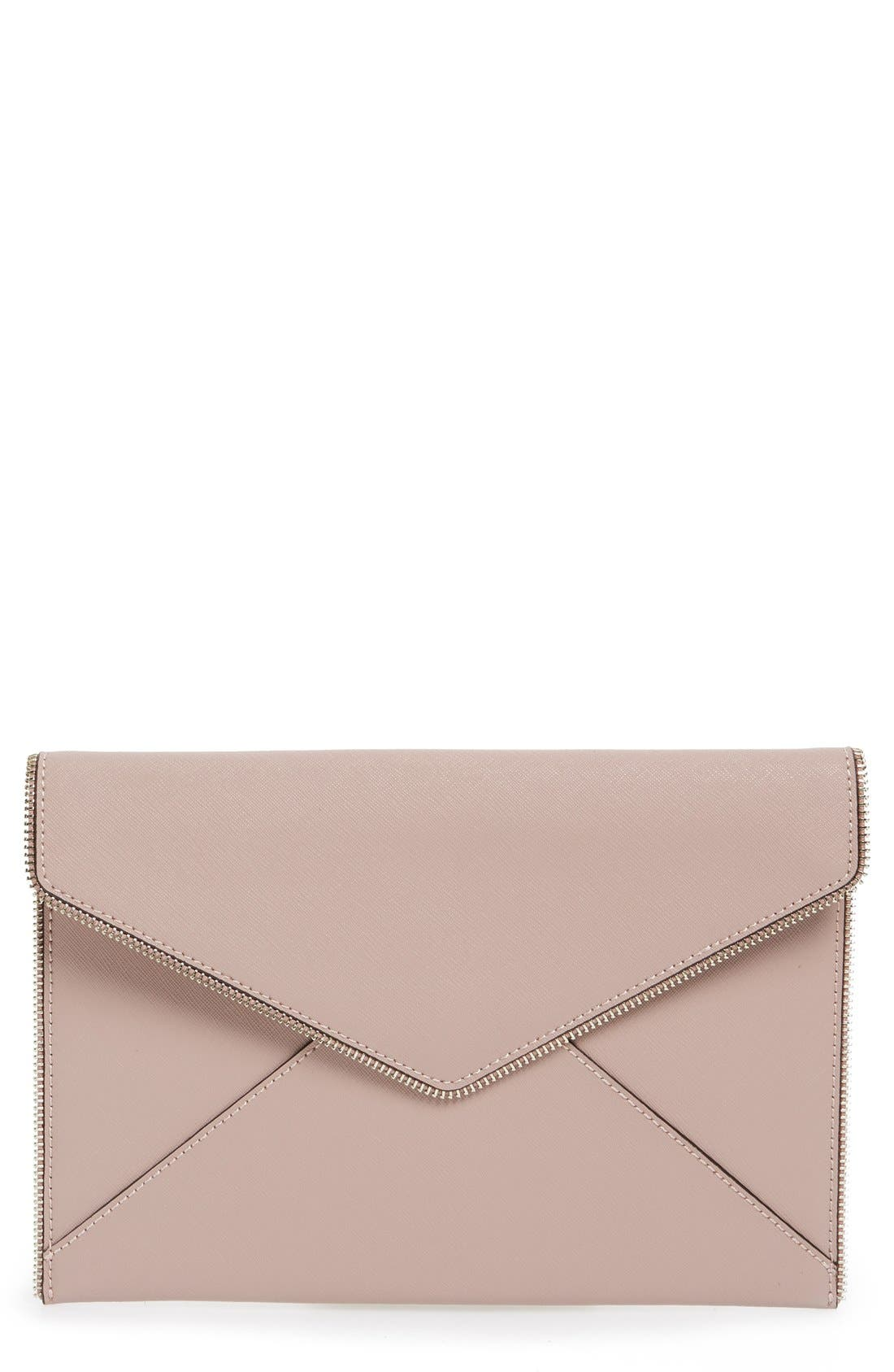 ,                             Leo Envelope Clutch,                             Main thumbnail 280, color,                             659